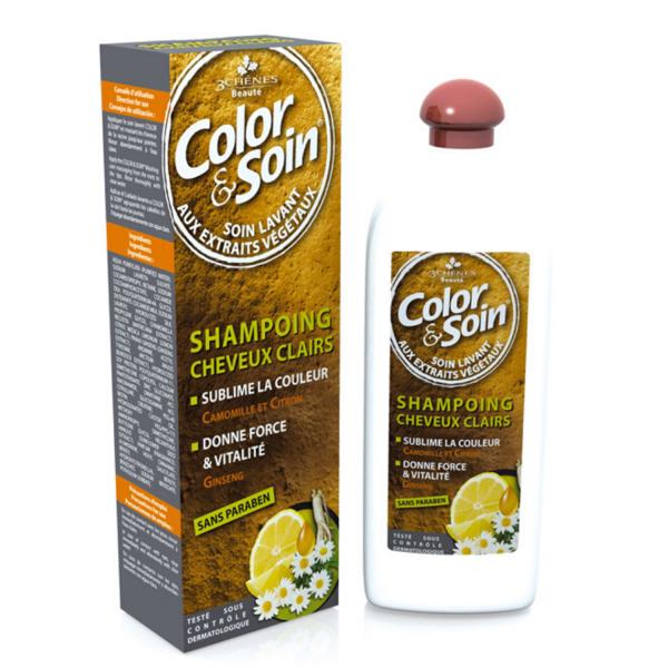 Шампоан Color&Soin за боядисана светла коса