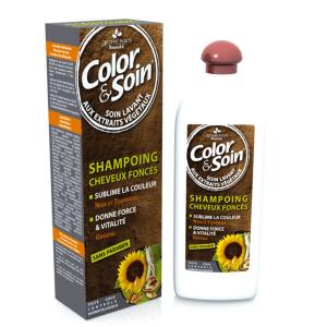 Шампоан Color&Soin за боядисана тъмна коса