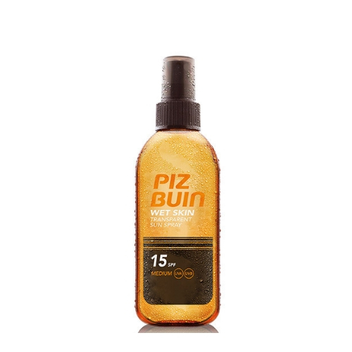 Слънцезащитен спрей за влажна кожа