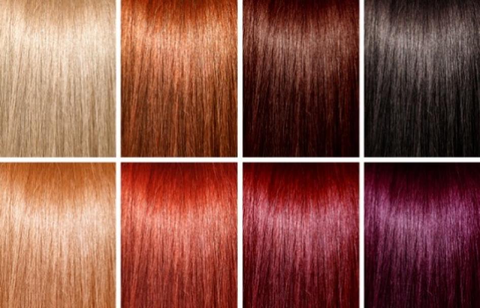 Каталог боя за коса- защо цветовете боя често се различават