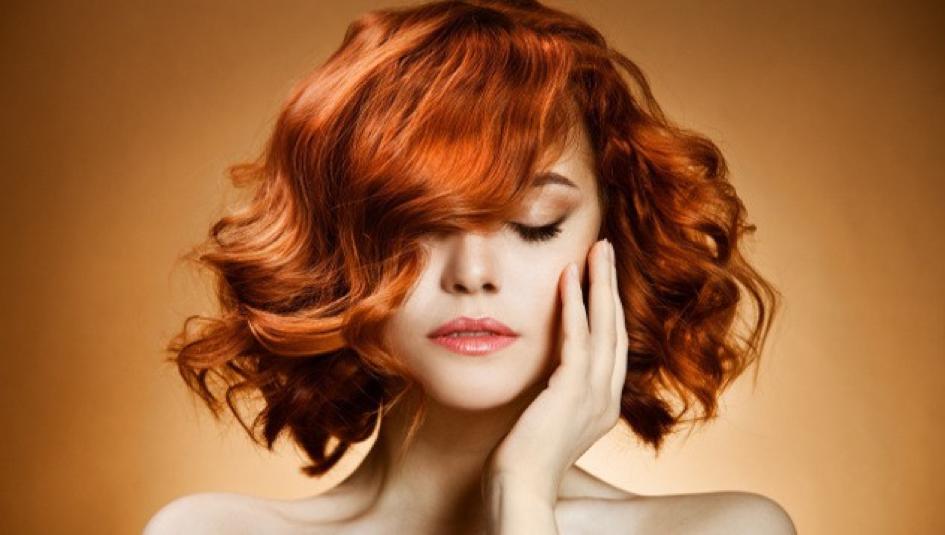 За какъв тип прически е подходяща боя за коса медно русо