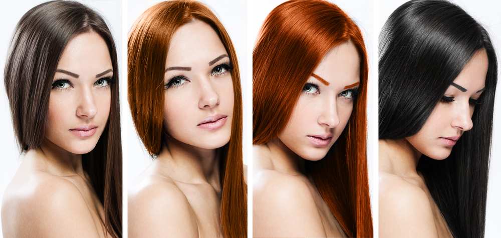 цвят на косата според тена на кожата