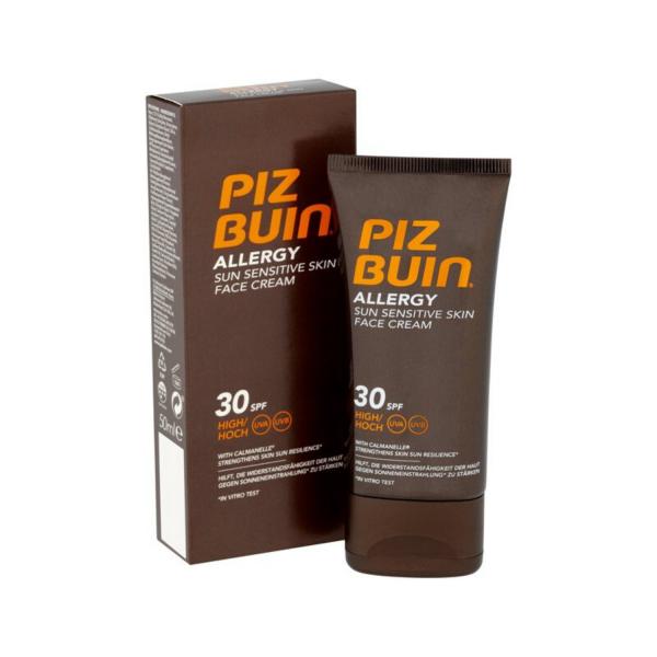 Piz Buin Слънцезащитен крем за лице SPF30