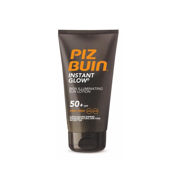 Piz Buin Слънцезащитен лосион за незабавен блясък SPF50