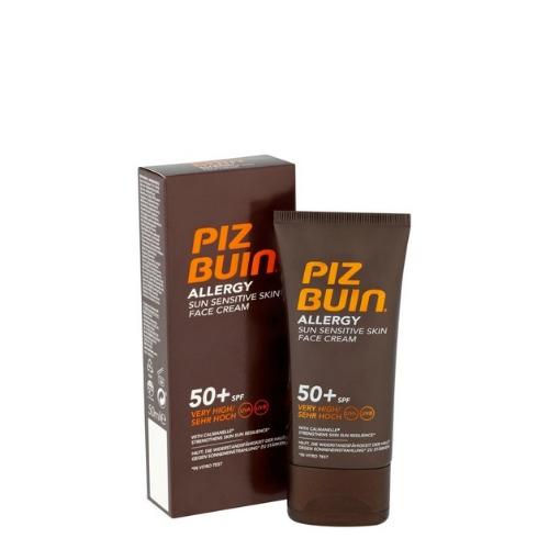 Слънцезащитен крем за лице за чувствителна кожа SPF 50