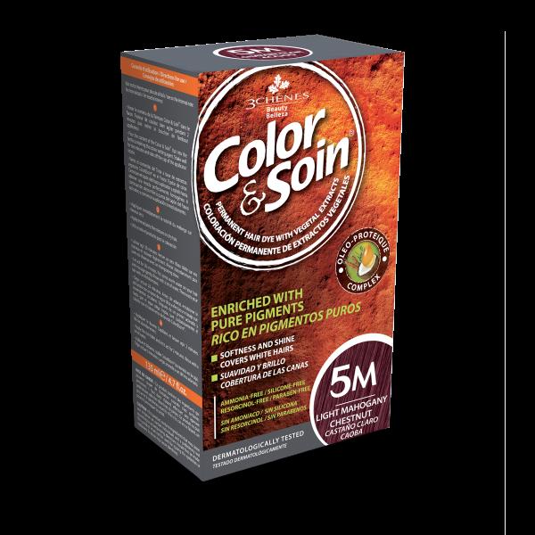 Боя за коса Color&Soin 5M Светло Махагоново Кестеняв