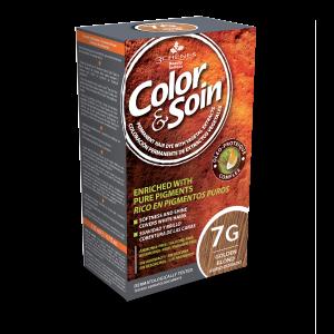 Боя за коса Color&Soin 7G Златисто Рус