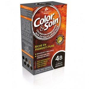 Боя за коса Color&Soin 4B Шоколадово Кестеняв