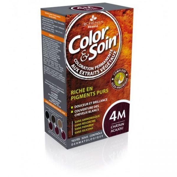 Боя за коса Color&Soin 4M Махагоново Кестеняв