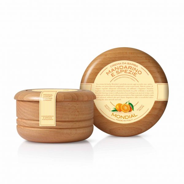Луксозен твърд крем за бръснене мандарина