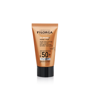Слънцезащитен флуид за лице SPF 50+ Filorga UV Bronze
