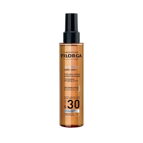 Filorga UV Bronze Слънцезащитно сухо олио SPF 30