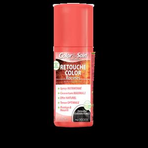 Цветен спрей за коса тъмно кестеняв Color&Soin