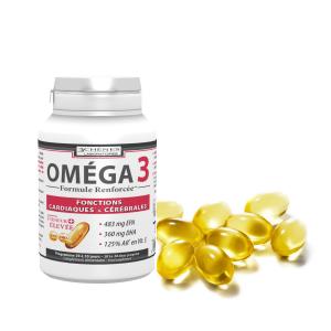 Омега 3 хранителна добавка за добро здраве, концентрация и имунитет